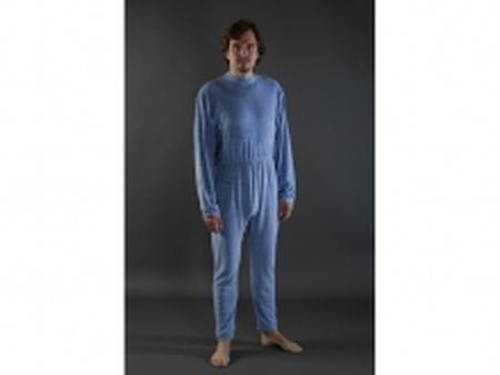 Pyjama bleu long